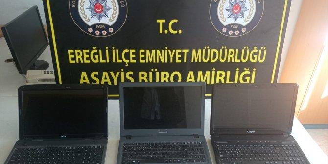 Konya'da üç ayrı hırsızlık olayının şüphelisi tutuklandı