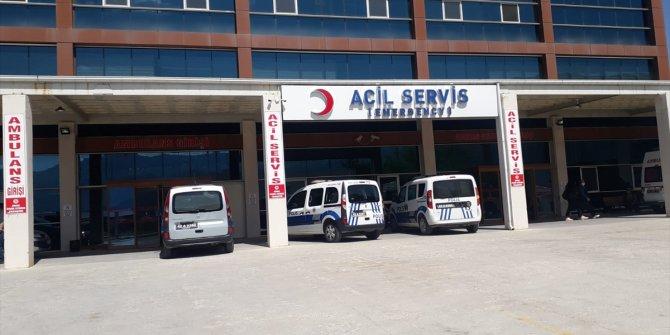 Konya'da balkondan düşen epilepsi hastası yaralandı