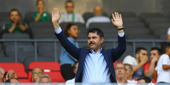 Bakan Murat Kurum, Konyaspor'un maçını izleyecek