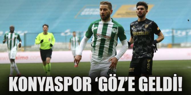 Konyaspor 'Göz'e geldi!
