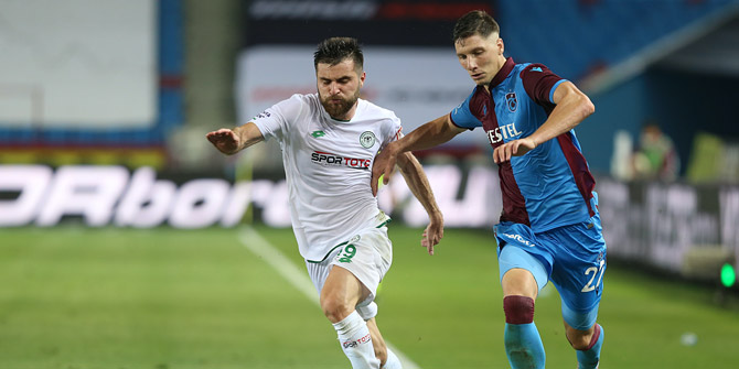Konyaspor'da Shengelia oyuna girdi golünü attı