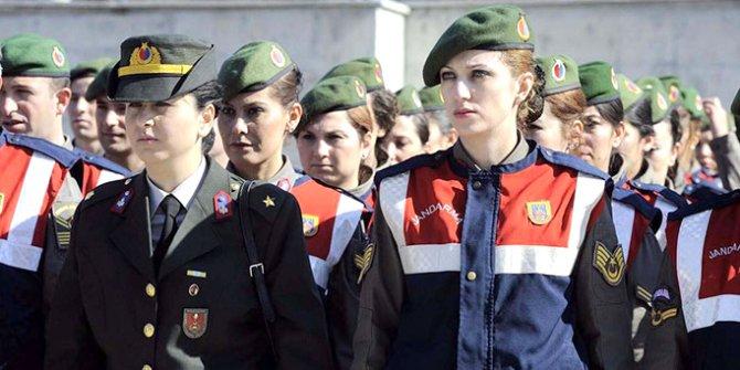 Jandarma ve Sahil Güvenlik'te   başörtü yasağı 4 yıl önce kalktı