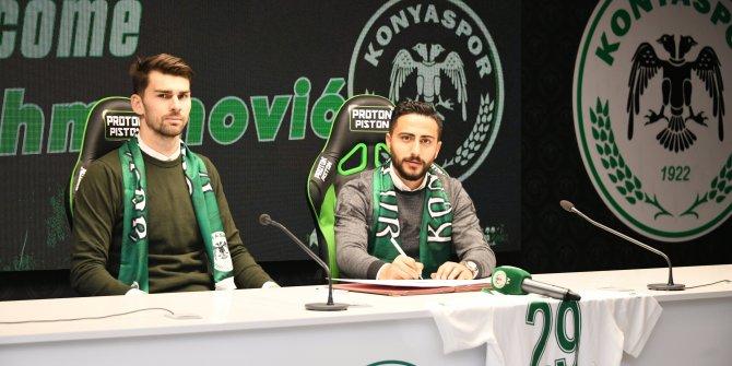 Amar Rahmanovic resmen Konyaspor'da!