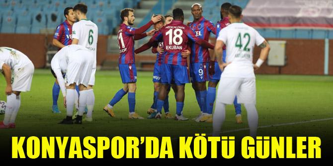 Konyaspor'da kötü günler