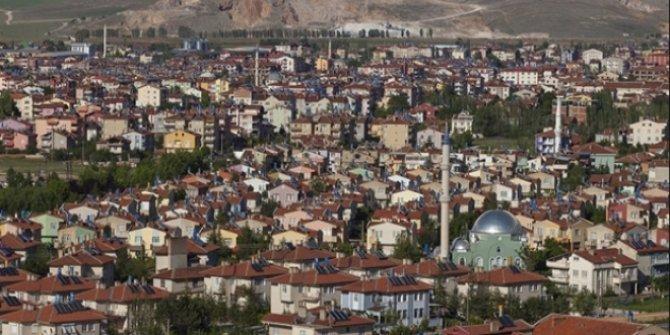 Konya'nın ilçesinde 341 metrekare arsa satışa çıktı