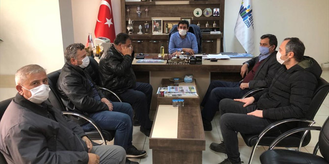 Hüyük Belediye Başkanı Mehmet Çiğdem muhtarlarla buluştu