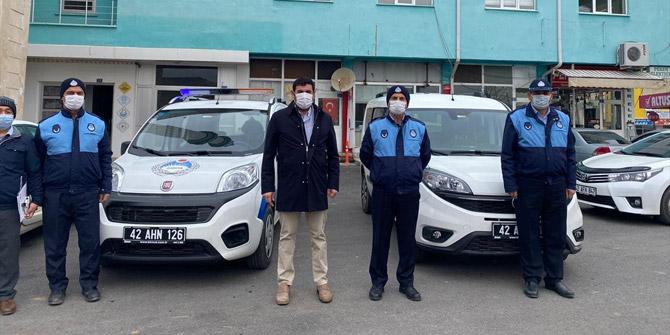 Hüyük Belediyesi'nin araç filosu güçlendi