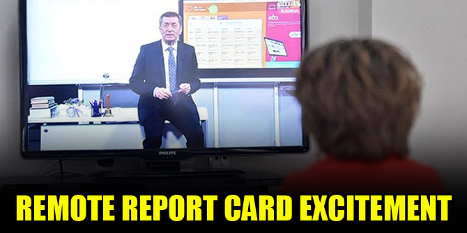 Remote report card excitement