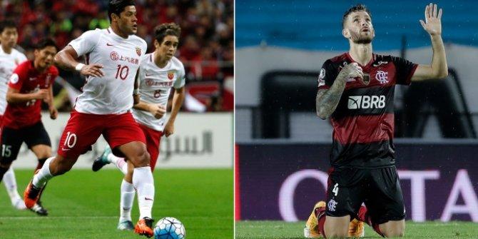 Beşiktaş'ın gündeminde Hulk ve Leo Pereira var