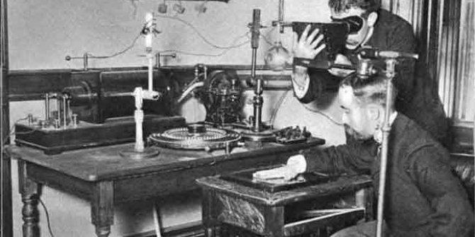 X-ray machine invented 125 years ago