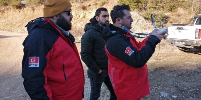 Kayıp alzaymır hastası drone ile arandı