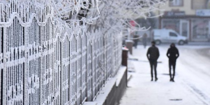 Meteoroloji'den buzlanma ve çığ uyarısı