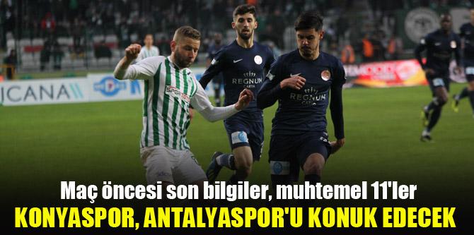 Konyaspor yarın Antalyaspor'u konuk edecek