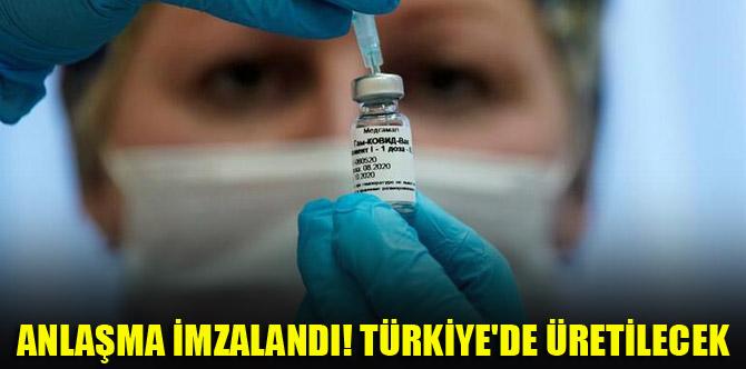Rusya'dan açıklama: Sputnik aşısının üretimi için Türkiye ile anlaşma imzaladık