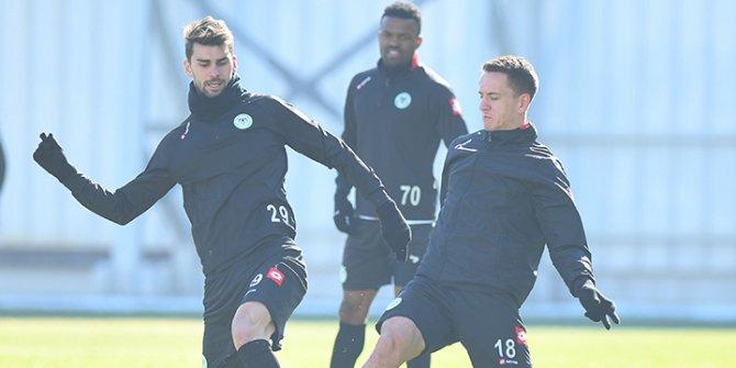 Konyaspor, Antalyaspor maçının hazırlıklarını tamamladı
