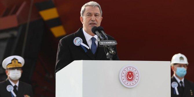 Bakan Akar: Yunanistan'la yapacağımız görüşmelerle meselelerin çözüme ulaşılmasını umuyoruz