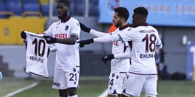 Trabzonspor, Ankara'da kazandı