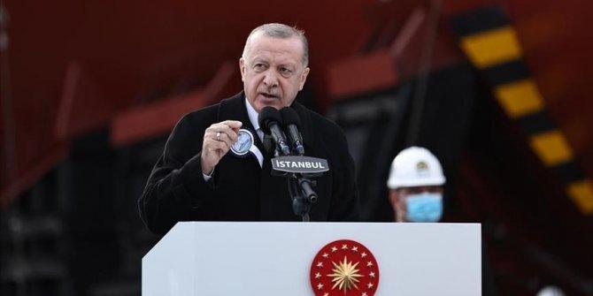 Erdogan: Turska je među 10 zemalja koje dizajniraju i grade vlastite ratne brodove