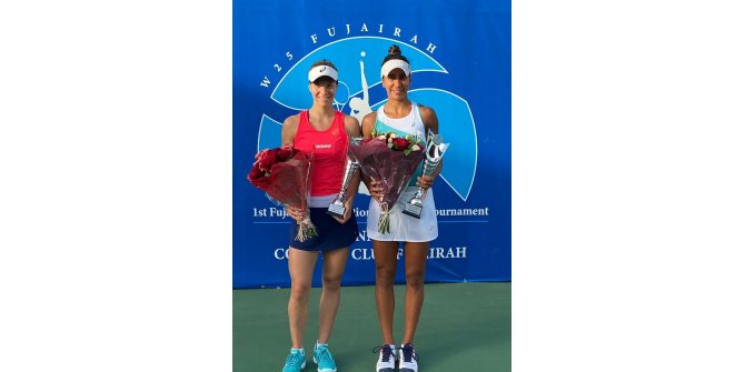 Milli tenisçi Çağla Büyükakçay,International Women Tennis Open'daşampiyon