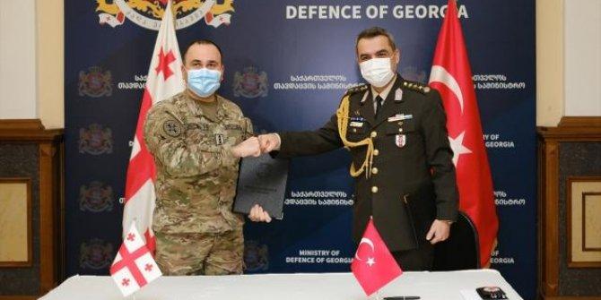Türkiye'den Gürcistan ordusuna ekipman desteği