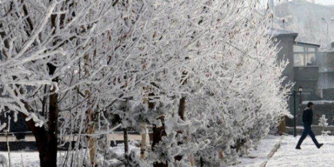 Konya için buzlanma ve don uyarısı