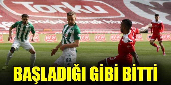 Başladığı gibi bitti | Konyaspor 0-0 Antalyaspor