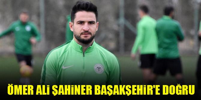 Konyaspor'da Ömer Ali Şahiner, Başakşehir'e doğru