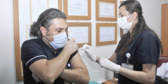 Konya'da aşı olanların sayısı 30 bini geçti