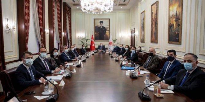 Adalet Bakanı Gül, Avrupa İşkencenin Önlenmesi Komitesi'ni kabul etti