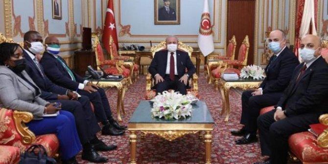 TBMM Başkanı Şentop, büyükelçileri kabul etti