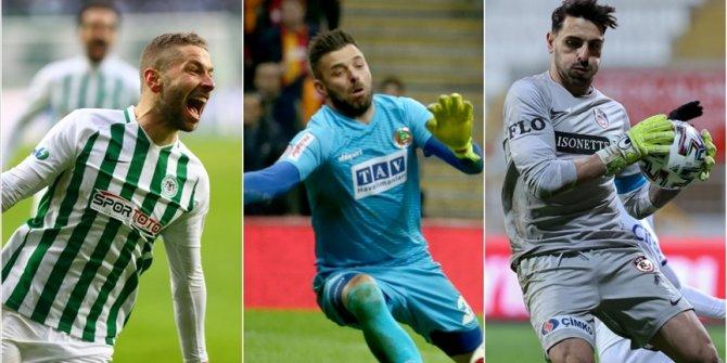 Süper Lig'de 3 isim ilk yarıdaki tüm maçlarda 90 dakika forma giydi