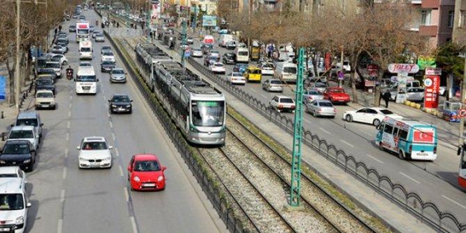 Konya'da taşıt sayısı arttı