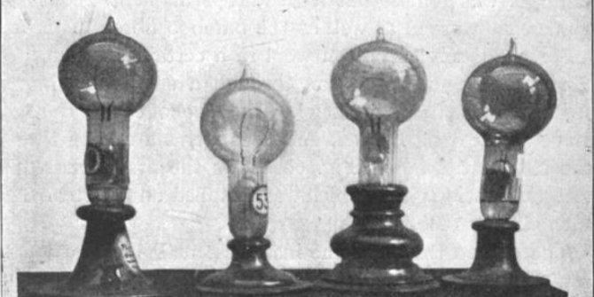 Edison elektrik ampulünün  patentini 141 yıl önce aldı