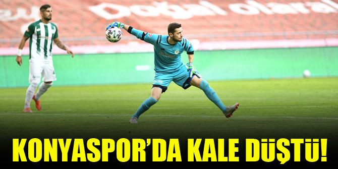 Konyaspor'da kale düştü!