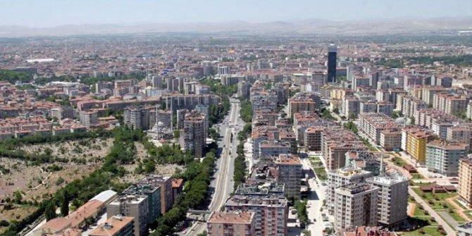 Konya'da 102 metrekare daire satışa çıktı