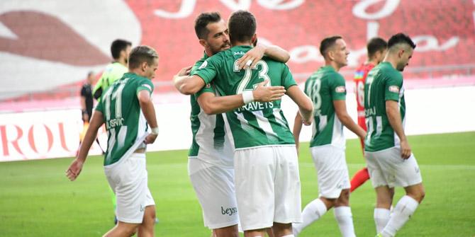 Konyaspor'a yedeklerden 7 gollük katkı