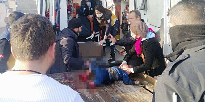 Konya'da evde çıkan yangında anne öldü