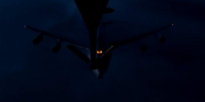 Türk Hava Kuvvetleri, NATO uçağına ilk kez gece görevinde havada yakıt ikmali yaptı