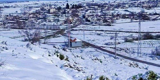 Edirne'de kar yağışı, kuraklık endişesi taşıyan çiftçiye can suyu oldu