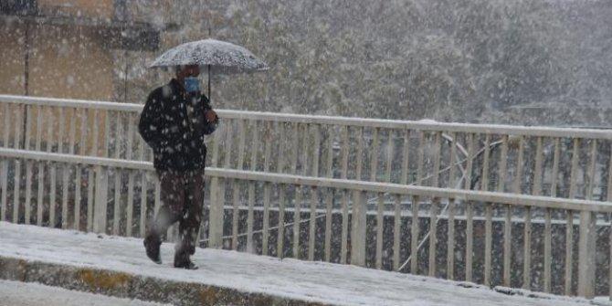 7 il için yoğun kar uyarısı