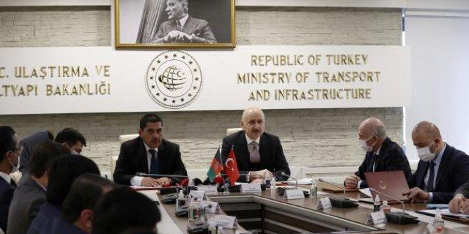 Türkiye ile Afganistan arasında ulaştırma alanında iş birliği