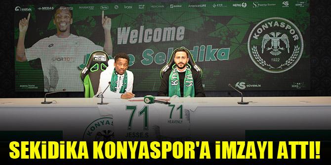 Sekidika Konyaspor'a imzayı attı!