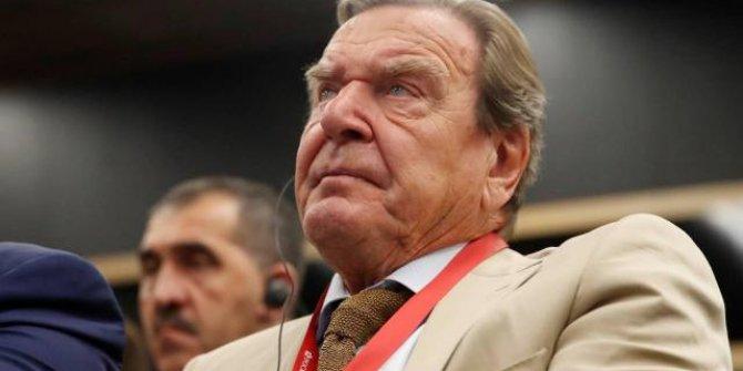 Eski Almanya Başbakanı Schröder: Türkiye'ye ihtiyacımız var