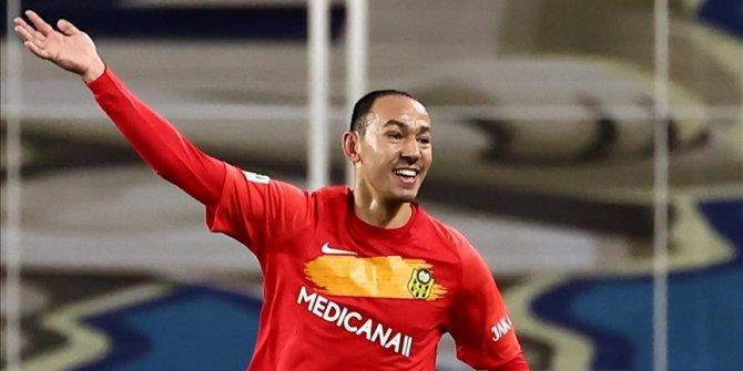 Türk futbolunun emektar forveti Umut Bulut, 500. maçına çıktı