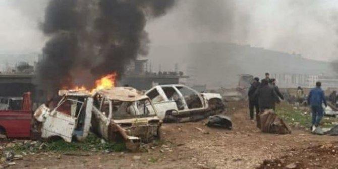 Afrin'de bombalı araç saldırısı: 2 ölü, 9 yaralı