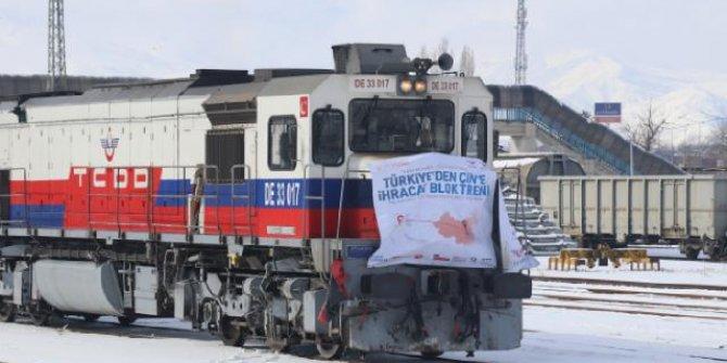 Rusya ve Çin'e gidecek olan ihracat trenleri Erzincan'da mola verdi