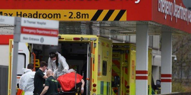İngiltere'de 1200 kişi koronavirüsten yaşamını yitirdi