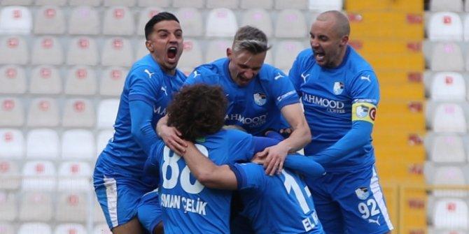 Erzurumspor 1 attı, 3 aldı