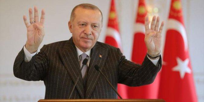 Erdoğan bugünkü mesaisini paylaştı
