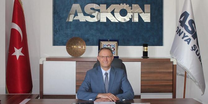 ASKON Konya Şube Başkanı Atilla Sinacı: Konya üretimde önemli bir performans sergiledi